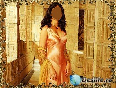 Костюм для фотошопа - Персидская принцесса