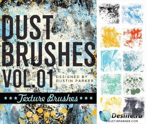 Dust Photoshop Brushes vol 1. Texture
