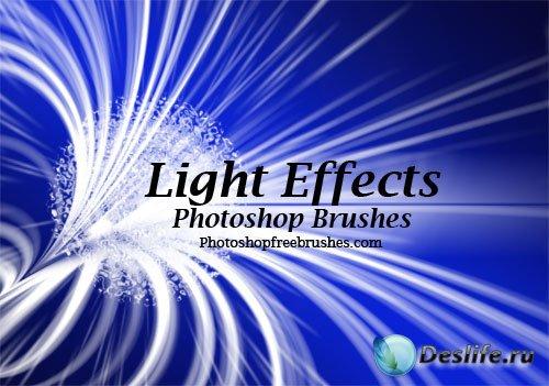 Кисти с интересным световым эффектом
