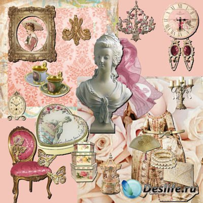 Скрап-набор – Marie Antoinette