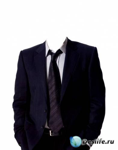 Шаблон фотошоп для мужчин