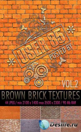 Brown Brick Textures #2