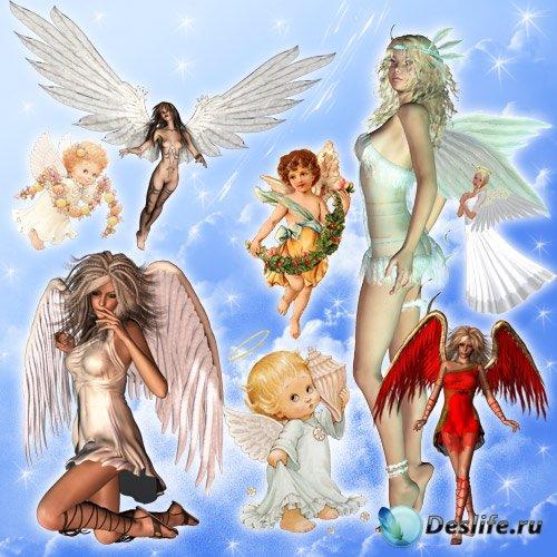 Клипарт - Ангелы