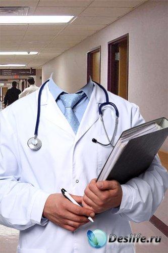 Костюм для фотошопа – Доктор