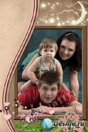 Рамка для Photoshop - Моя семья