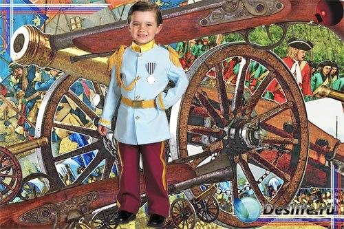 Костюм для Photoshop - Слава героям
