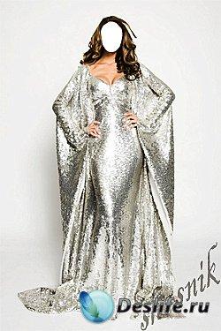 Женский костюм для фотошопа №2