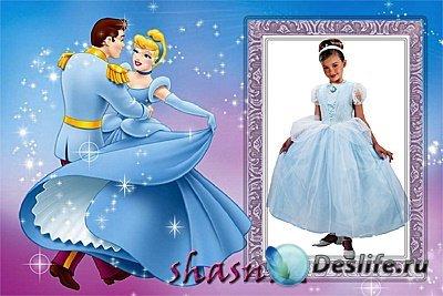 Фото рамка для девочек