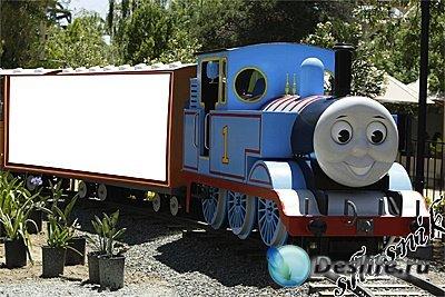 Детская фоторамка - Томас