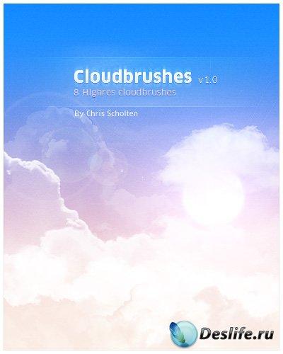 Кисти для фотошопа с облаками