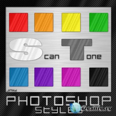 Стили для фотошопа - Scan Tone