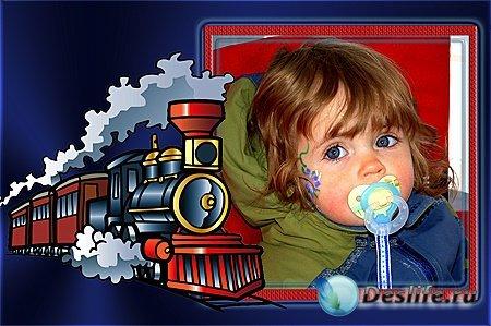 Детская  фоторамка