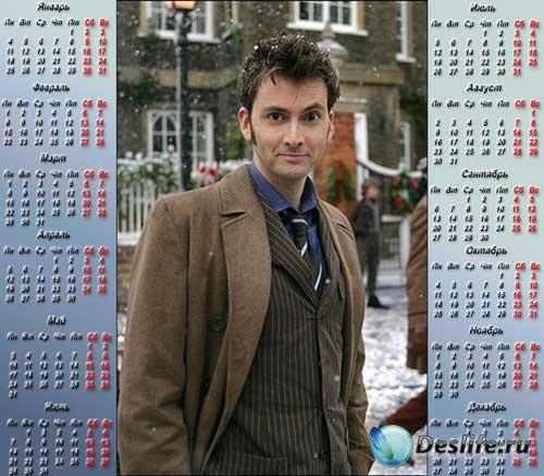 Календарь на 2010 год - Доктор Кто