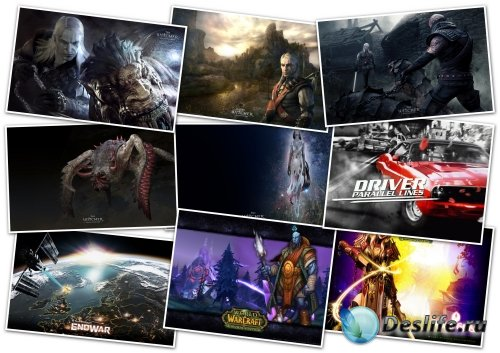 Обои - Games wallpaper collection Pack (107)