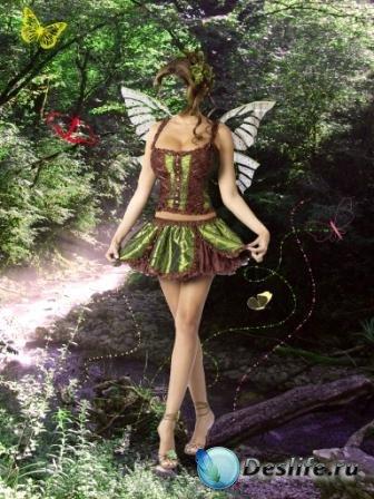 Костюм для Photoshop - Лесная фея