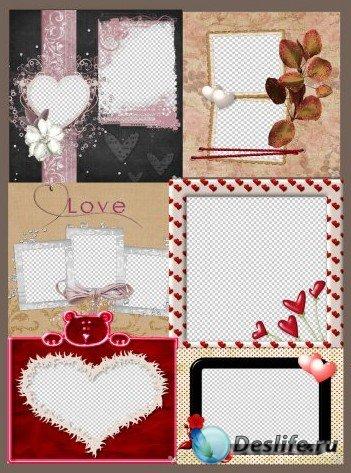 Рамочки - С любовью Часть 1