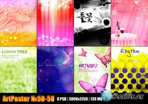 Art Poster 50-58