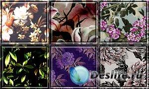 Стили для фотошоп - Цветочные
