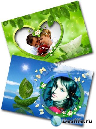 Рамки для Photoshop - Моя весна