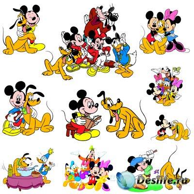 Клипарт - Герои Walt Disney