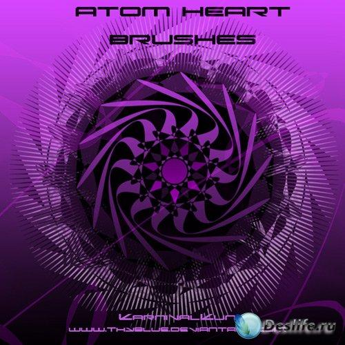 Atom Heart Brushes