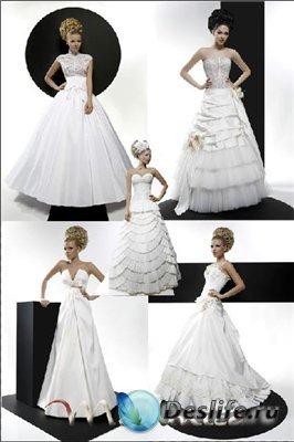 Костюм для Фотошопа - Свадебные платья