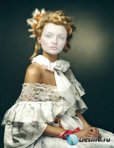 Костюм для Photoshop - Леди