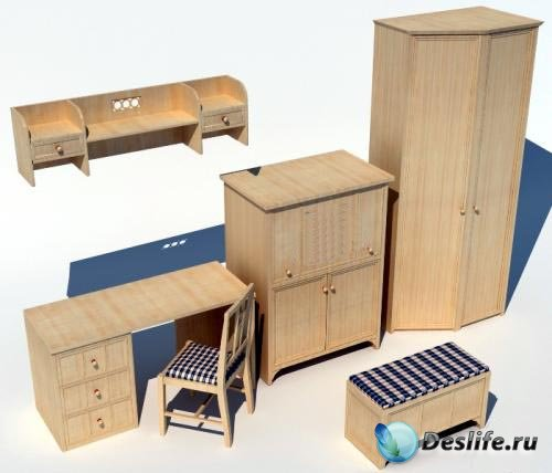3D Модели мебели Julia Arredamenti-Deco