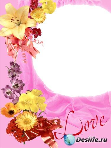 Love - Рамка для Фотошопа