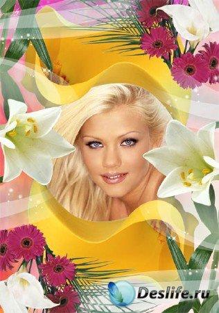 Фоторамка - Рай в цветах