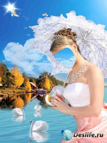 Костюм для фото – лебединое озеро