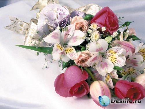 Букеты цветов - КдипАрты