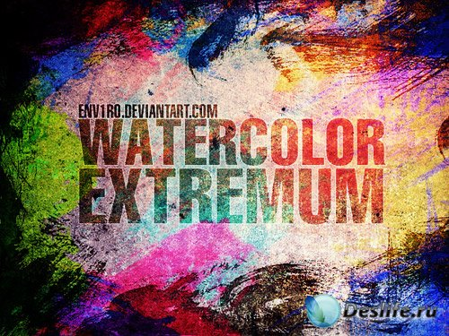 WaterColor EXTREMUM Brushes
