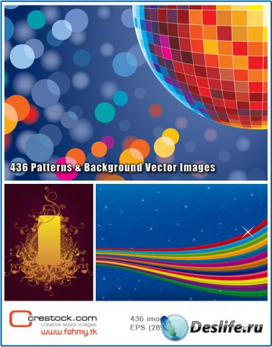 436 Patterns & Backgrounds vector images