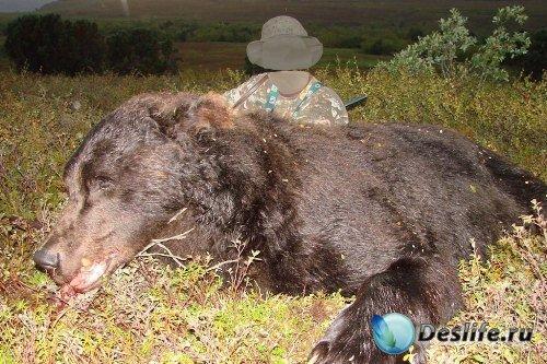 Костюм для Фотошопа – Охота на медведя