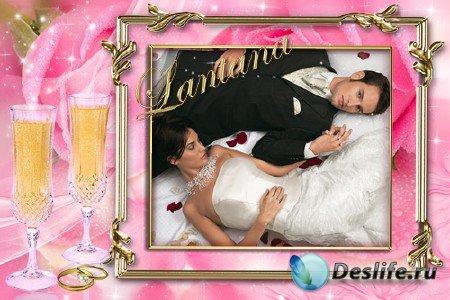 PSD шаблон для фотографии Праздничный альбом