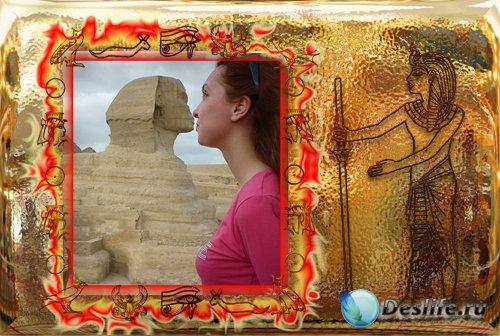 Рамка - Египетские мотивы