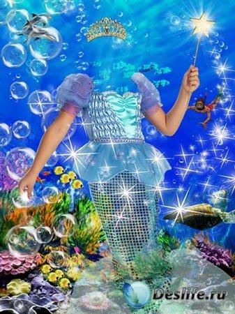 Костюм для фото – Подводное царство