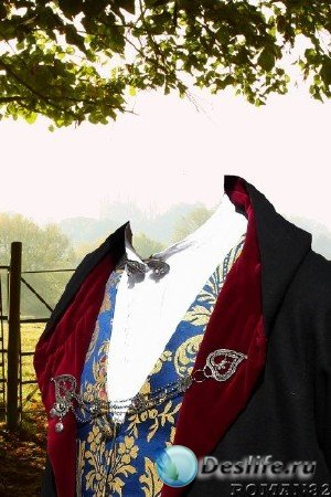 Костюм для Фотошопа - Сардский костюм