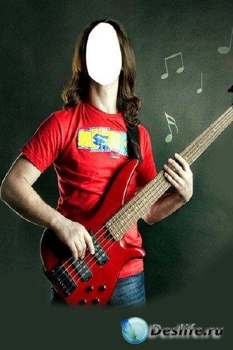 Костюм для Фотошопа – Гитарист