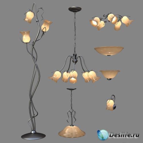 3D Модели ламп