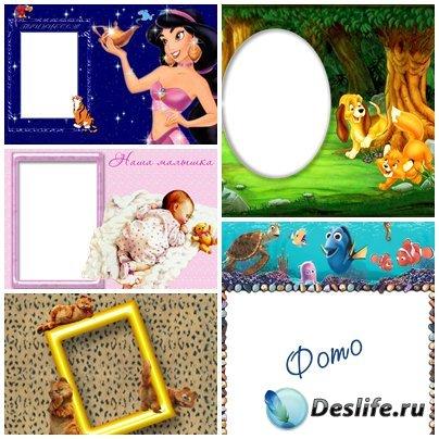 Детские рамки для фотошопа