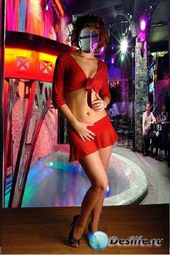 Костюм для Фотошопа – Девушка в клубе