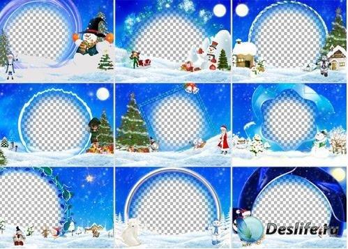 Рождественские рамки 2