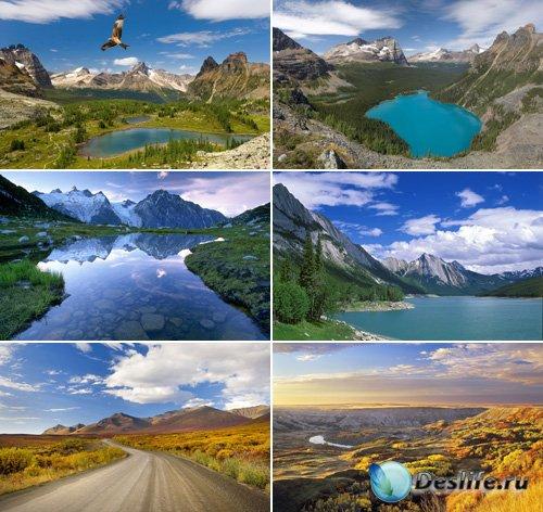 Канадские пейзажи для рабочего стола