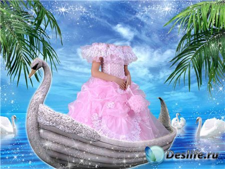 Костюм для фото – Девочка в лодке