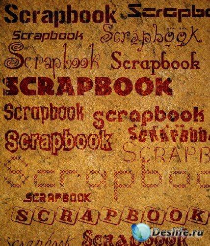 Латинские шрифты для скрапбукинга (Scrapbook Fonts)