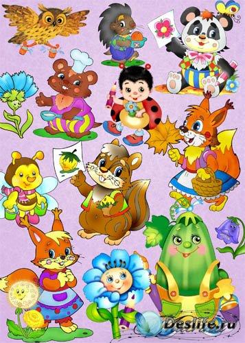 Детский клипарт - Сказочные персонажи