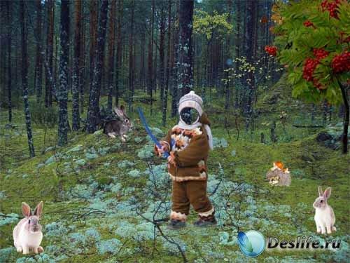 Детский фотокостюм - Ну, заяц, погоди!