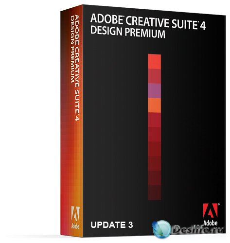 Adobe CS4 Design Premium DVD Update 3 (rus/eng)